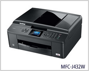 may in brother mfc j432w wifi  in scan copy fax in phun mau