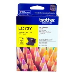 Mực Fax Brother LC 73Y Yellow Ink Cartridge (LC 73M)