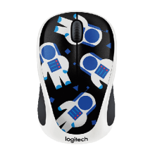 Chuột quang không dây Logitech Wireless Mouse M238 Party Spaceman