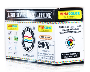 Mực in Vinacolor 29X Black LaserJet Toner Cartridge (C4129X)